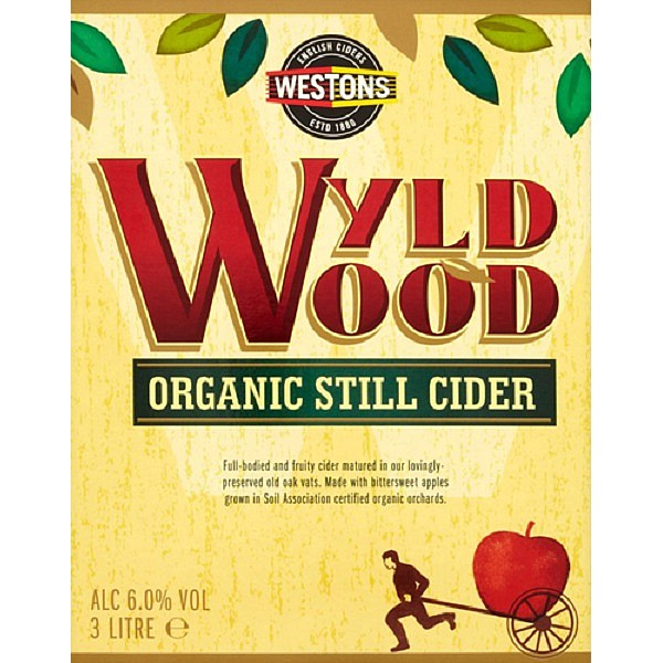 BIB Wyld Wood Organic Still Cider