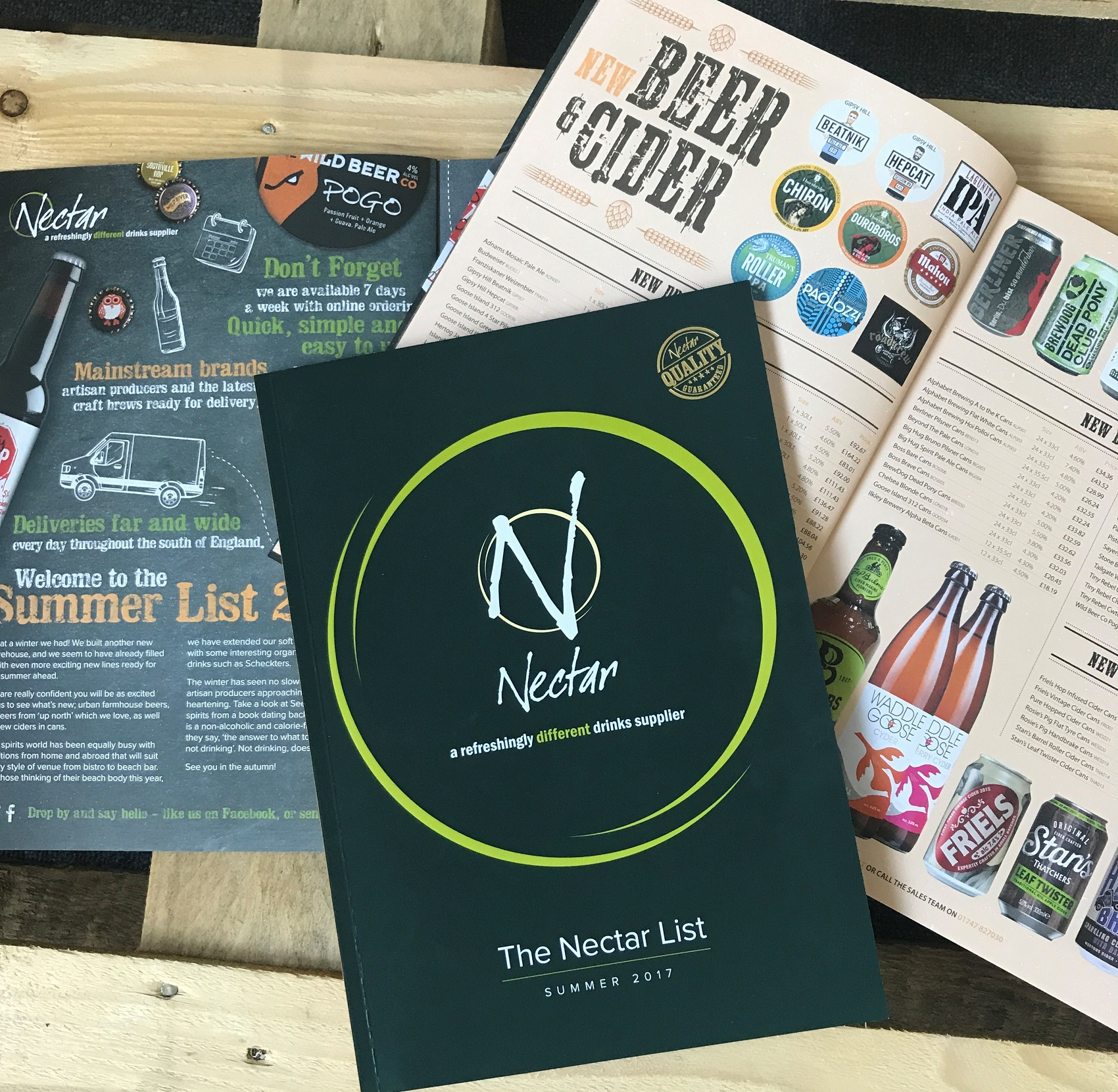 News: Our Summer 2017 List is here!! : Nectar Imports Ltd