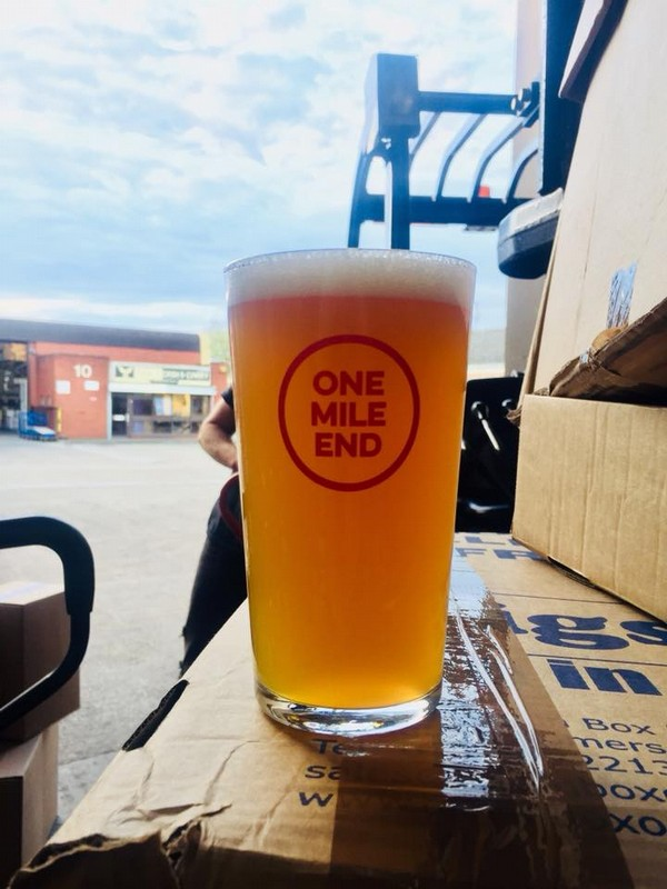 One Mile End Cask Ale are here... Once they're gone, they're gone!