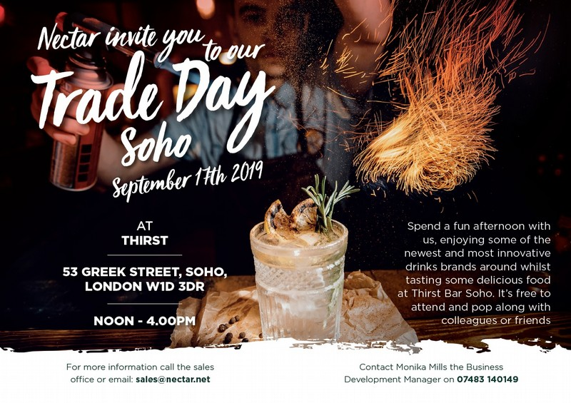 You are invited to our Trade Day in Soho!