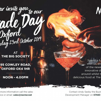 You are invited to our Trade Day in Oxford!