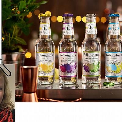 Soft Drinks Buyer's Pick this Month...Folkington's Tonics