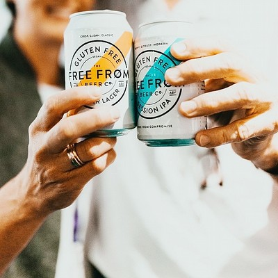 Free From Beer is in Cans!