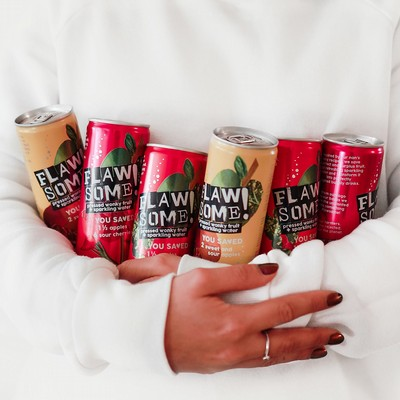 Flawsome! Lightly Sparkling Juice Drinks Are Here!