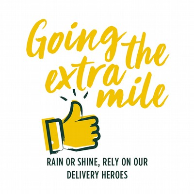 We deliver when you want, where you want!