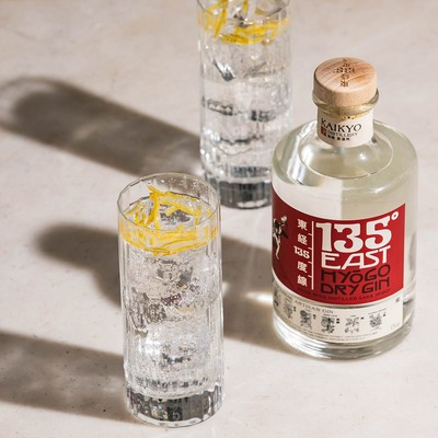 135° East gin stimulates the unexpected