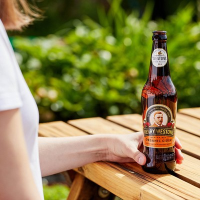 Henry Westons Organic Cider: Your New Favourite Pale Golden