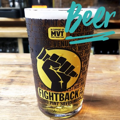 Fightback Lager...This Beer Saves Music Venues!