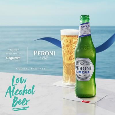 The Exciting Partnership of Peroni Libera 0.0% and Aston Martin Cognizant Formula One™️