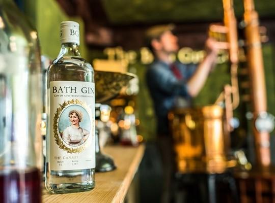 Bath Gin & Hopped Rhubarb Gin