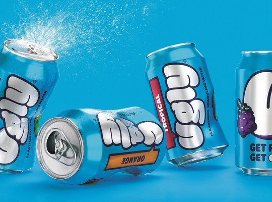 Ugly Sparkling Waters Cans