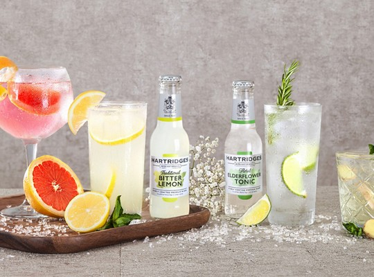 Hartridges Sparkling and Mixers