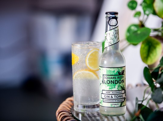 Square Root Non-Alcoholic G&T