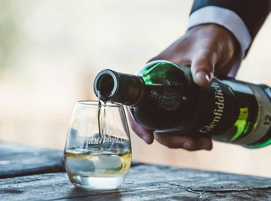 Whisky mixed basket