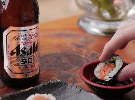 Asahi and Peroni