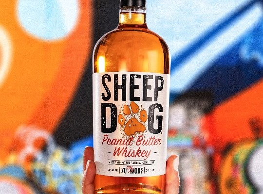 The Sheep Dog Bourbon basket