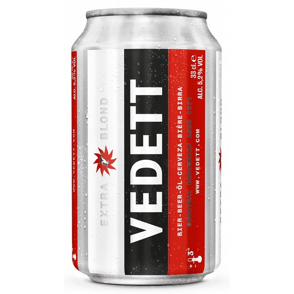 Vedett Extra Blonde Cans
