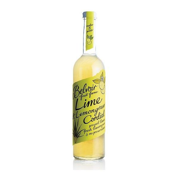 Belvoir Lime & Lemongrass Cordial