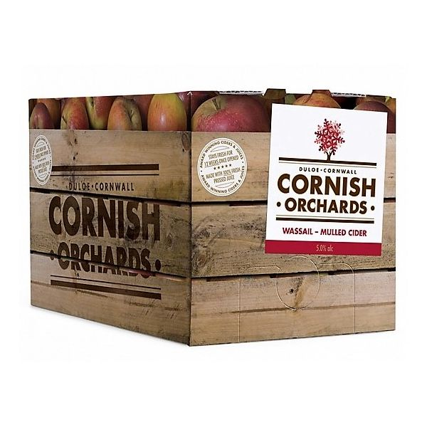 BIB Cornish Orchards Wassail Mulled Cider