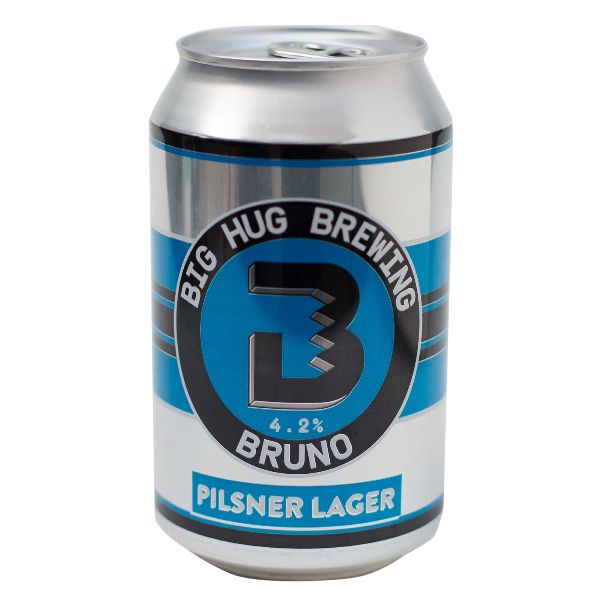 Big Hug Bruno Pilsner Cans