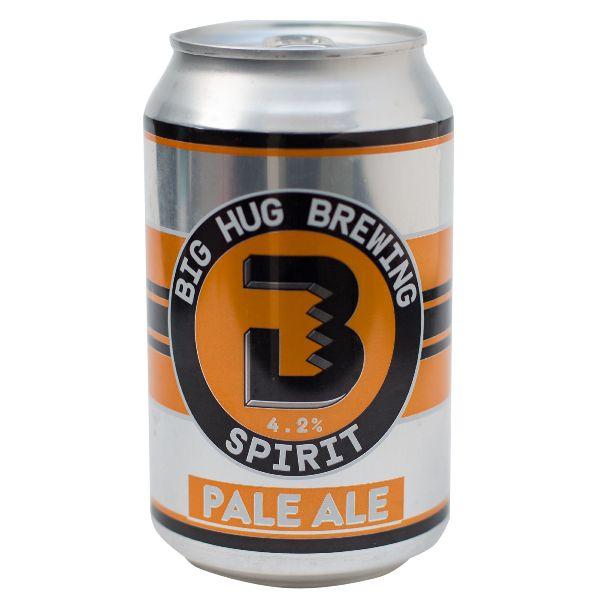 Big Hug Spirit Pale Ale Cans