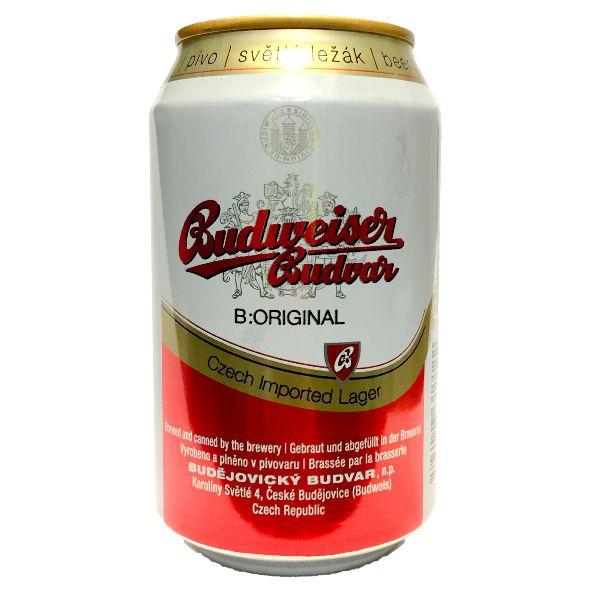 Budvar Cans