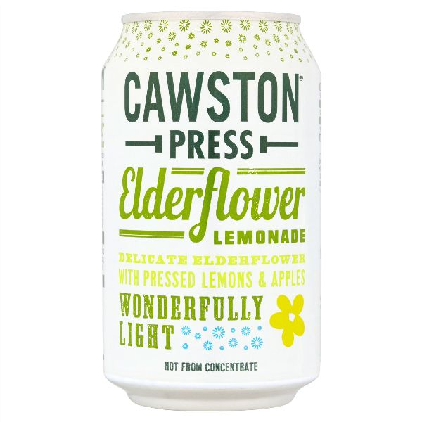 Cawston Press Sparkling Elderflower  Cans