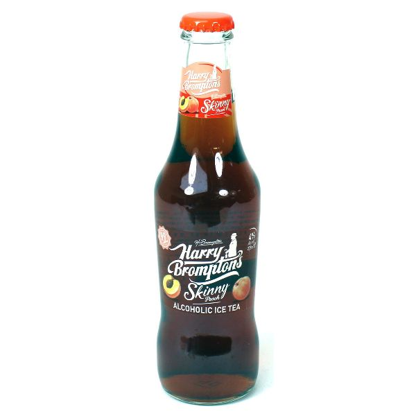 Harry Brompton's Skinny Peach Iced Tea