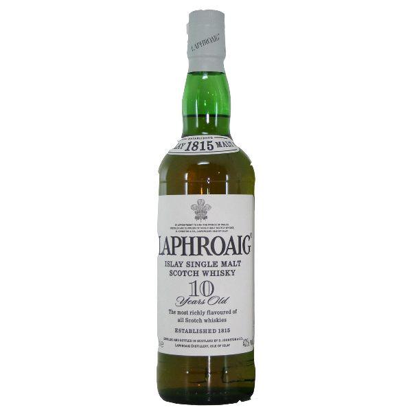 Laphroaig 10 Year Old Malt Whisky
