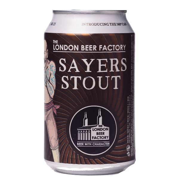 London Beer Factory Sayers Stout Cans