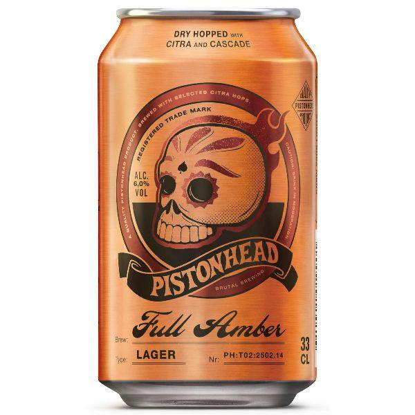 Pistonhead Full Amber Cans