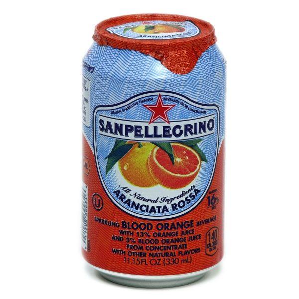 San Pellegrino Blood Orange Cans