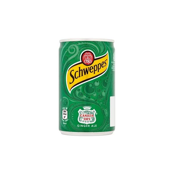 Schweppes Canada Dry Travel Cans