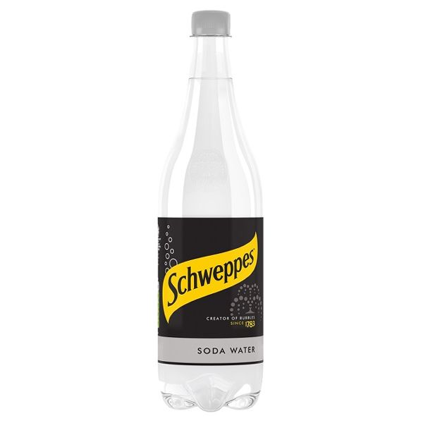 Schweppes Soda Water PET
