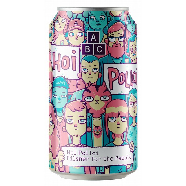 Alphabet Brewing Hoi Polloi Cans