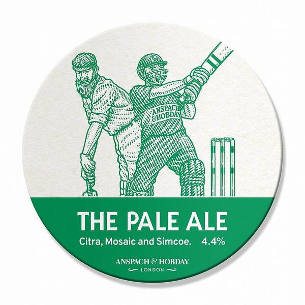 Anspach & Hobday Pale Ale Oval Badge