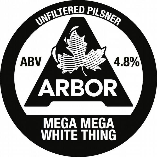 Arbor Ales Mega Mega White Thing
