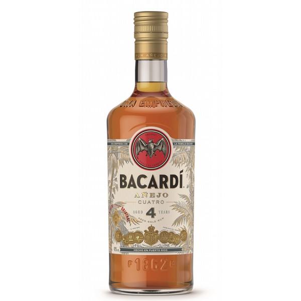 Bacardi Cuatro Rum