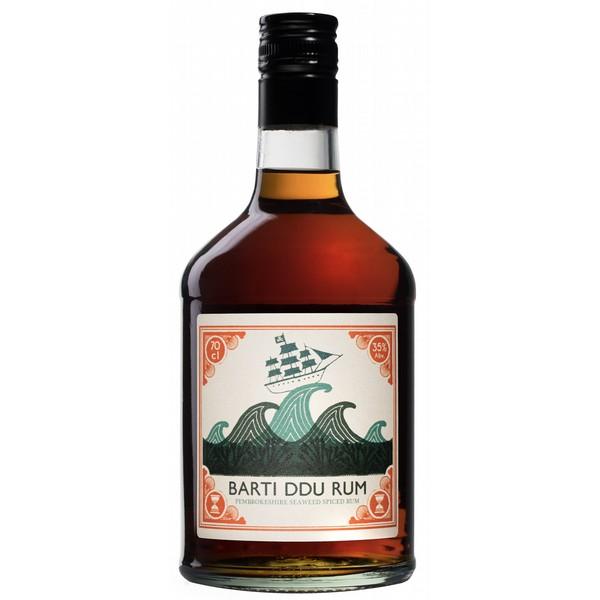 Barti Ddu Seaweed Spiced Rum