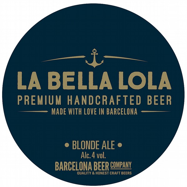 Barcelona Beer Co La Bella Lola