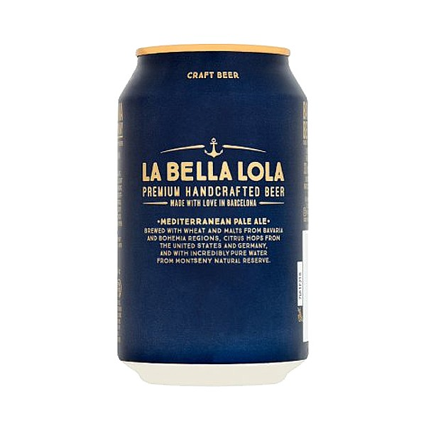 Barcelona Beer Co La Bella Lola Cans