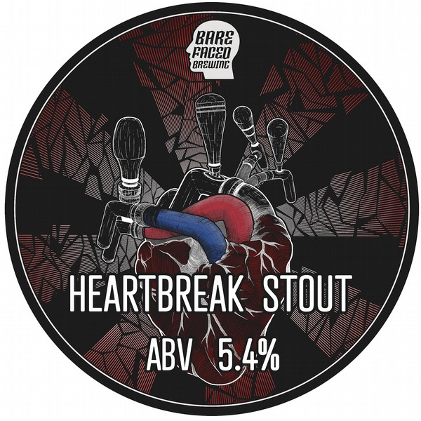 Barefaced Brewing Heartbreak Stout Cask