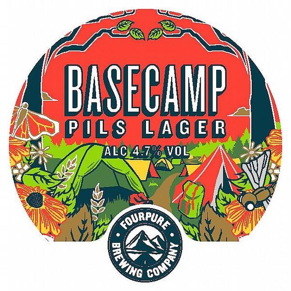 Fourpure BaseCamp Round Badge