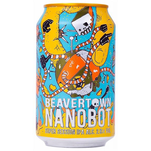 Beavertown Nanobot Session IPA Cans