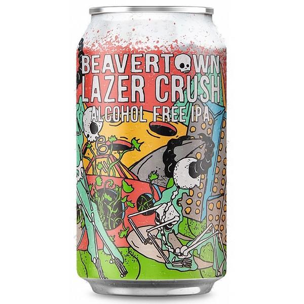 Beavertown Lazer Crush  AF IPA Cans