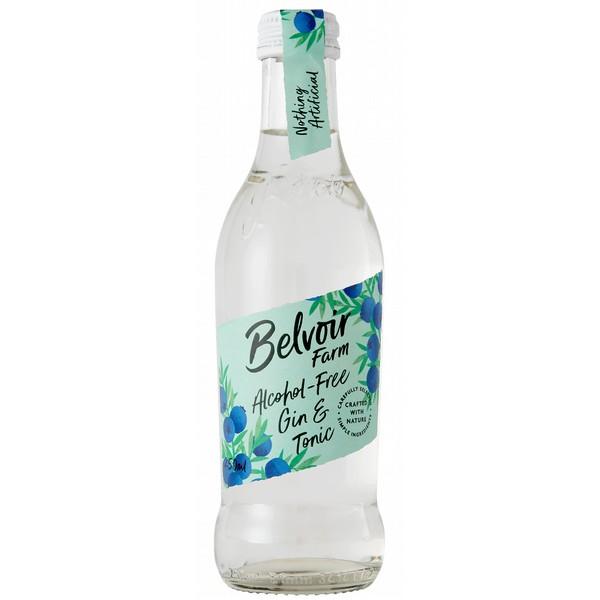 Belvoir Alcohol Free Gin & Tonic