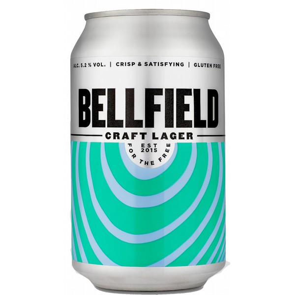 Bellfield Craft Lager Cans
