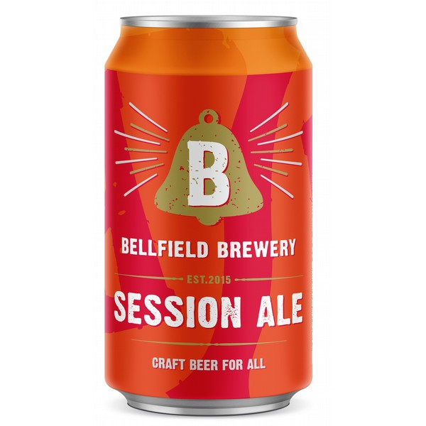 Bellfield Session Ale  Cans