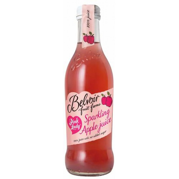 Belvoir Pink Lady Sparkling Apple Juice