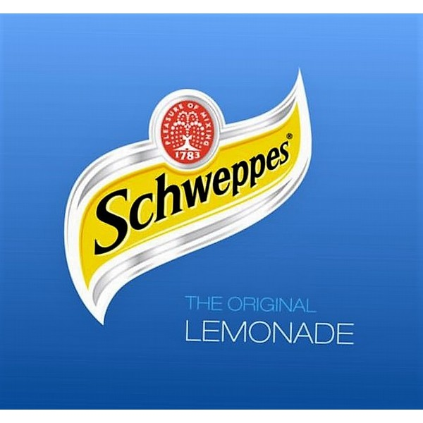 Schweppes Lemonade  BIB